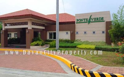 Lot For Sale at Ponte Verde Buhangin Davao City