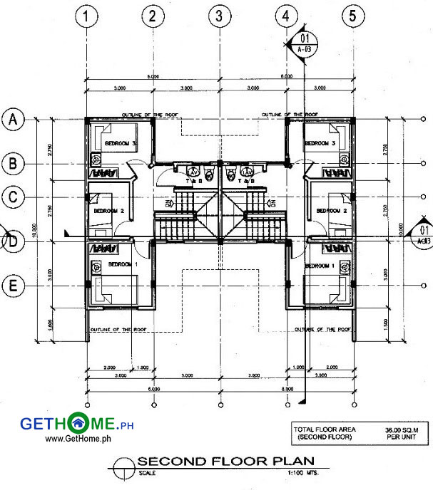 Marie-GetHomePh-2nd-floor-Floor-Plan-3-Bedrooms-Cambridge-Heights-Terraces-Affordable-Low-Cost-housing-in-Malagamot-Panacan-Davao-City-Property-1 copy