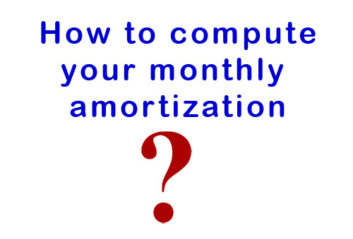 how-to-compute-the-monthly-amortization-in-the-bank in davao philippines