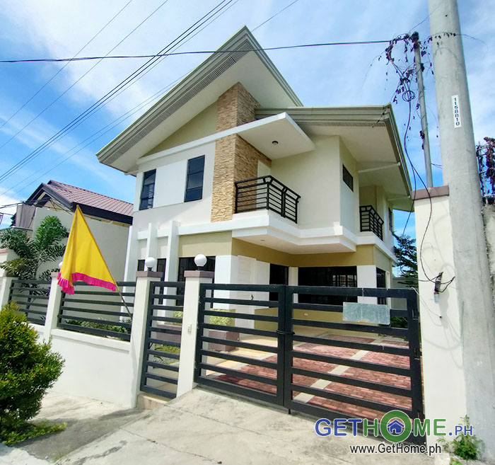 Brand New 4 Bedrooms 3 Toilet House and Lot For Sale near Davao Airport at 13M+