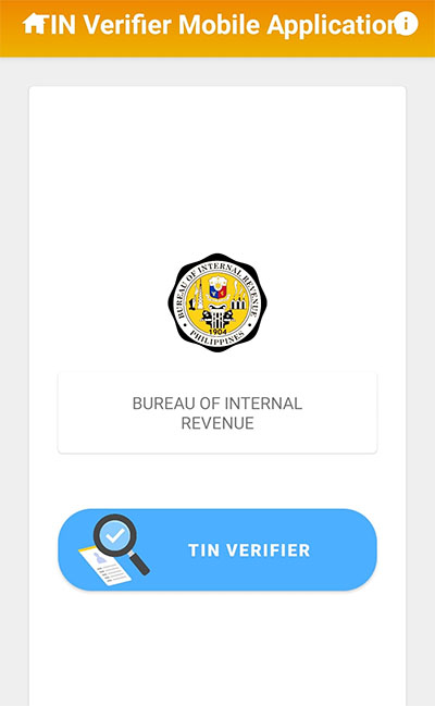 5-How to get BIR TIN VERIFICATION IN THE PHILIPPINES using mobile App