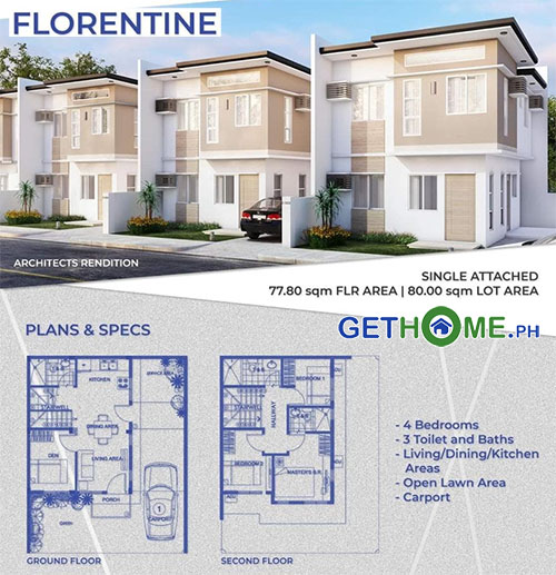 Florentine Diamond Heights House and Lot For Sale near Davao Airport