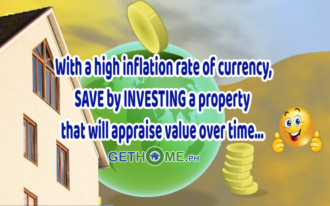 SAVE by INVESTING a property